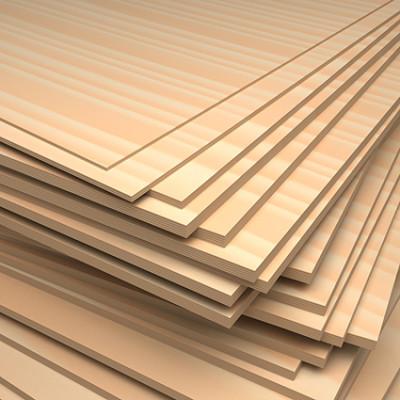 Buchesperrholz Zuschnitte 10x10cm, 4mm