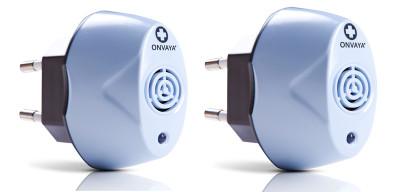 Milbenschutz Ultraschall, 2er Set