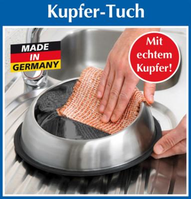 Kupfer-Tuch, 3er-Set