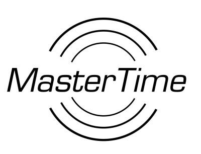 MasterTime Herren-Funkuhr Advanced, schwarz/ blau - MTGS-10559-32M