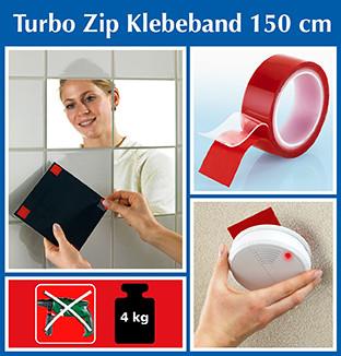 Turbo-Zip Klebeband