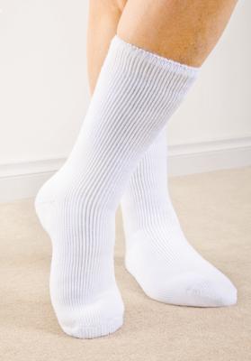 Wärmespeicher-Socken, GR. 38-42, weiß, Inhalt: 2 Paar