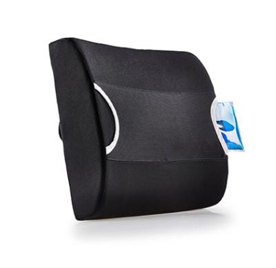 Rückenstützkissen mit Gelpad mit Kälte-/ Wärmefunktion