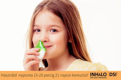 Nasal Inhalator - Trockensalztherapie - Atmen Sie auf