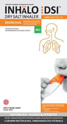 Bronchial Inhalator - Trockensalztherapie - Atmen Sie auf