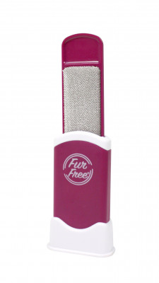 Original Fur Free hair and lint remover with cleaning stand
