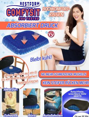 Comfysit Egg Tested Hochkomfort Kissen