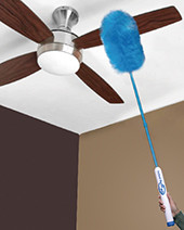 Original Instant Duster Pro - the rotating, wireless feather duster