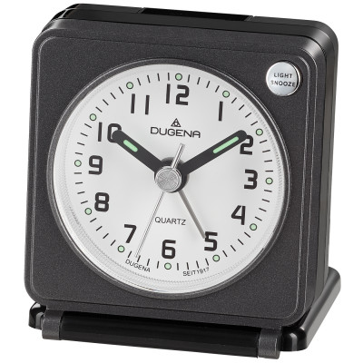DUGENA Quartz travel alarm clock 4460949
