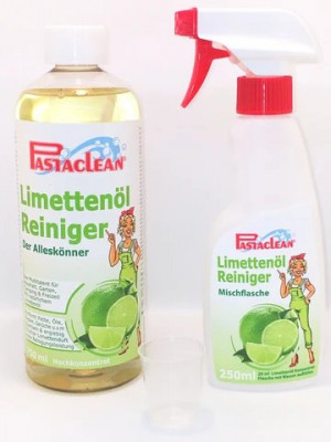 Pastaclean lime oil cleaner, concentrate 1 liter, with accessories