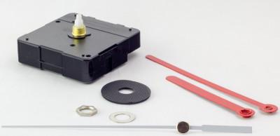 Quartz movement set LP incl. Pointer, sweeping second, ZWL 11mm - especially for record clocks