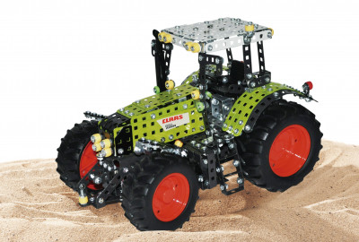 Tronico metal construction kit tractor Claas Axion 850