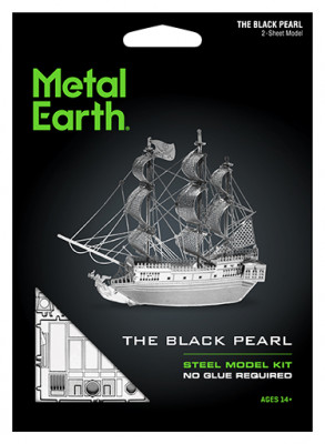 METAL EARTH 3D kit Black Pearl