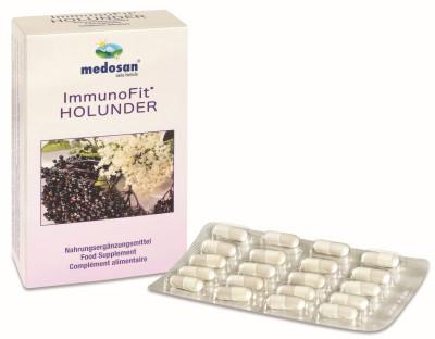 ImmunoFit Holunder, 60 Kapseln - zur Stärkung Ihres Immunsystems