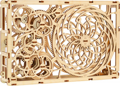 WOODEN CITY Kinetic Picture, 85 components