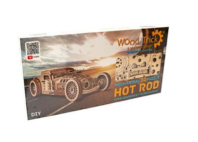 WOOD TRICK Hot Rod, 280 Bauteile