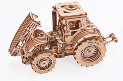 WOOD TRICK Traktor, 401 Bauteile
