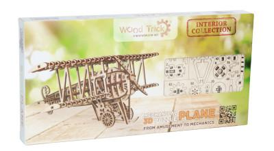 WOOD TRICK Flugzeug/ Doppeldecker, 148 Bauteile