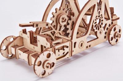 WOOD TRICK Catapult, 96 Bauteile