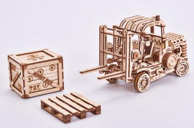 WOOD TRICK Gabelstapler, 325 Teile