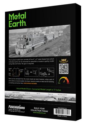 METAL EARTH 3D-Bausatz Lokomotive Premiumbox - Geschenkbox