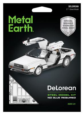 METAL EARTH 3D kit Delorean