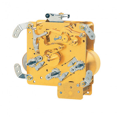 Table clock movement Hermle 340-020, 8 days, floating balance, stroke on gong, Westminster