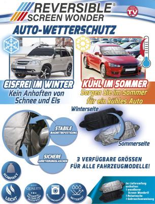 Autoschutzmatte - Eisfrei im Winter - Kühl im Sommer - Größe 180x120cm