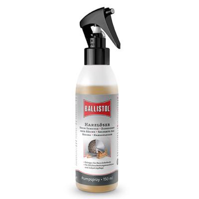 BALLISTOL resin remover, 150ml - dissolves burnt-in resin residues