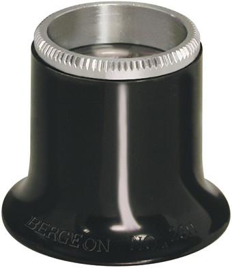 Watchmaker magnifier 4x, bi-convex lens Bergeon