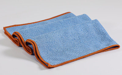 Das AUSGEZEICHNETE Copper+ Mikrofasertuch - eines der besten Spül- und Reinigungstücher - hygienisch