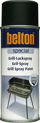 belton grill paint spray, matt black - 400ml