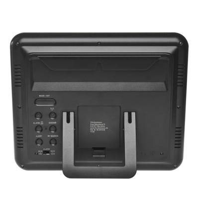 TFA Funk-Wanduhr/ Tischuhr mit Außen- und Innentemperatur