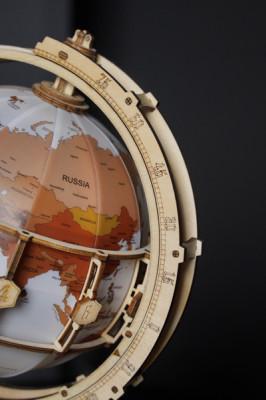 ROKR 3D-Bausatz Globus leuchtend