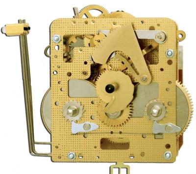 Regulatorwerk Hermle 141-030, 14-Tage, Pendel 52cm , Schlag auf Gong