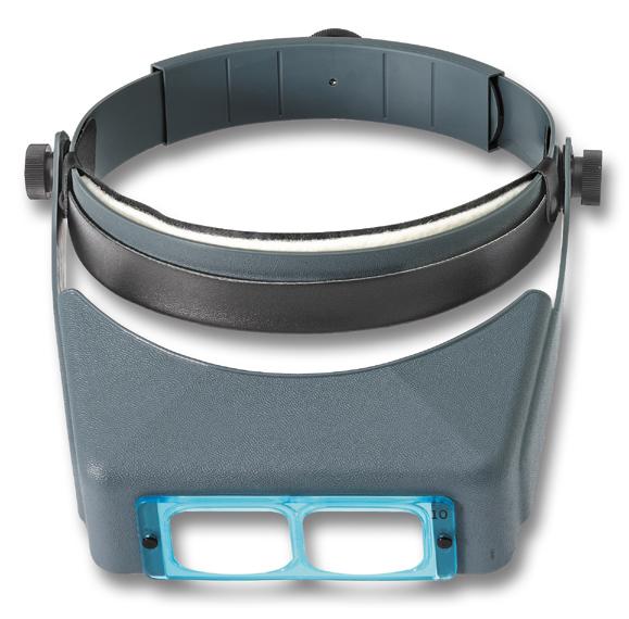 Binokulare Kopflupe 2,5x OptiVISOR