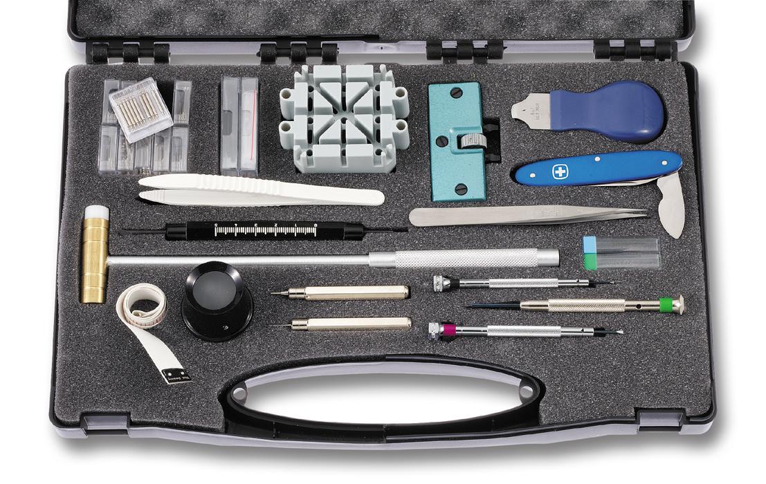 Kleines Set für Batterie- und Bandwechsel