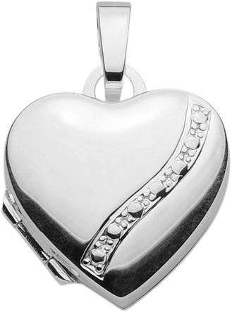 Medaillon Silber 925/- Herz