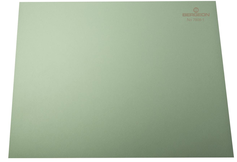 Sous-mains antidérapant vert, 320 x 240 x 2 mm, en paquet 10 pièces