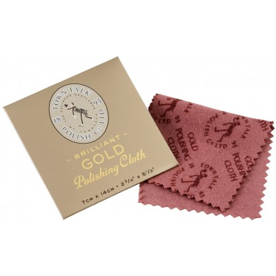 TOWN TALK Gold polishing cloths 140 x 70 mm