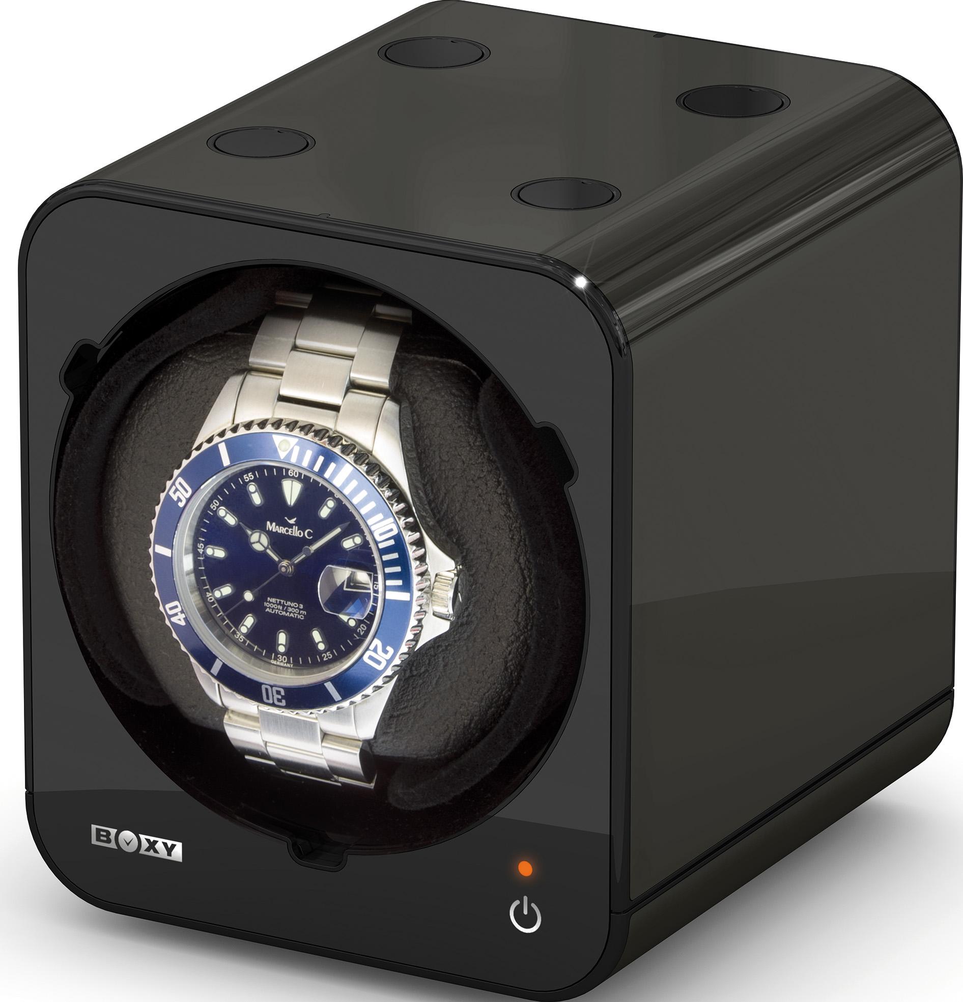 "Watch Winder ""Boxy"" for one watch"