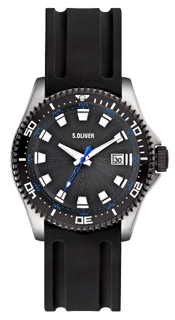 release date: cad92 455ce s.Oliver PU-Band schwarz SO-2051-PQ