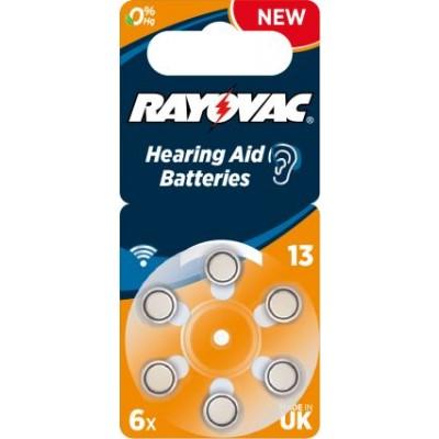 Rayovac 13 Hörgeräteknopfzelle
