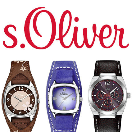 s.Oliver leather straps