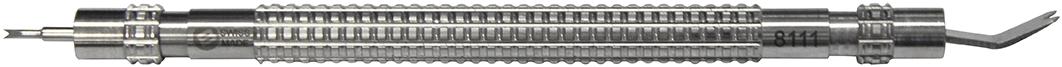 Federstegwerkzeug Dorn 0,80 + Schaufel Bergeon