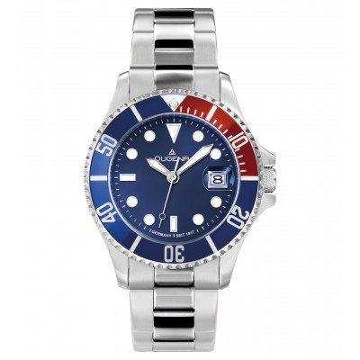 DUGENA Quartz Watch, blue