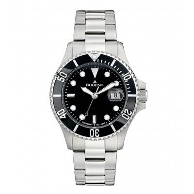 DUGENA Quartz Watch, black