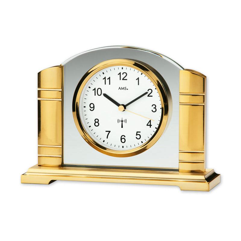 "AMS Radio-Controlled Mantel Clock ""Vienna"""