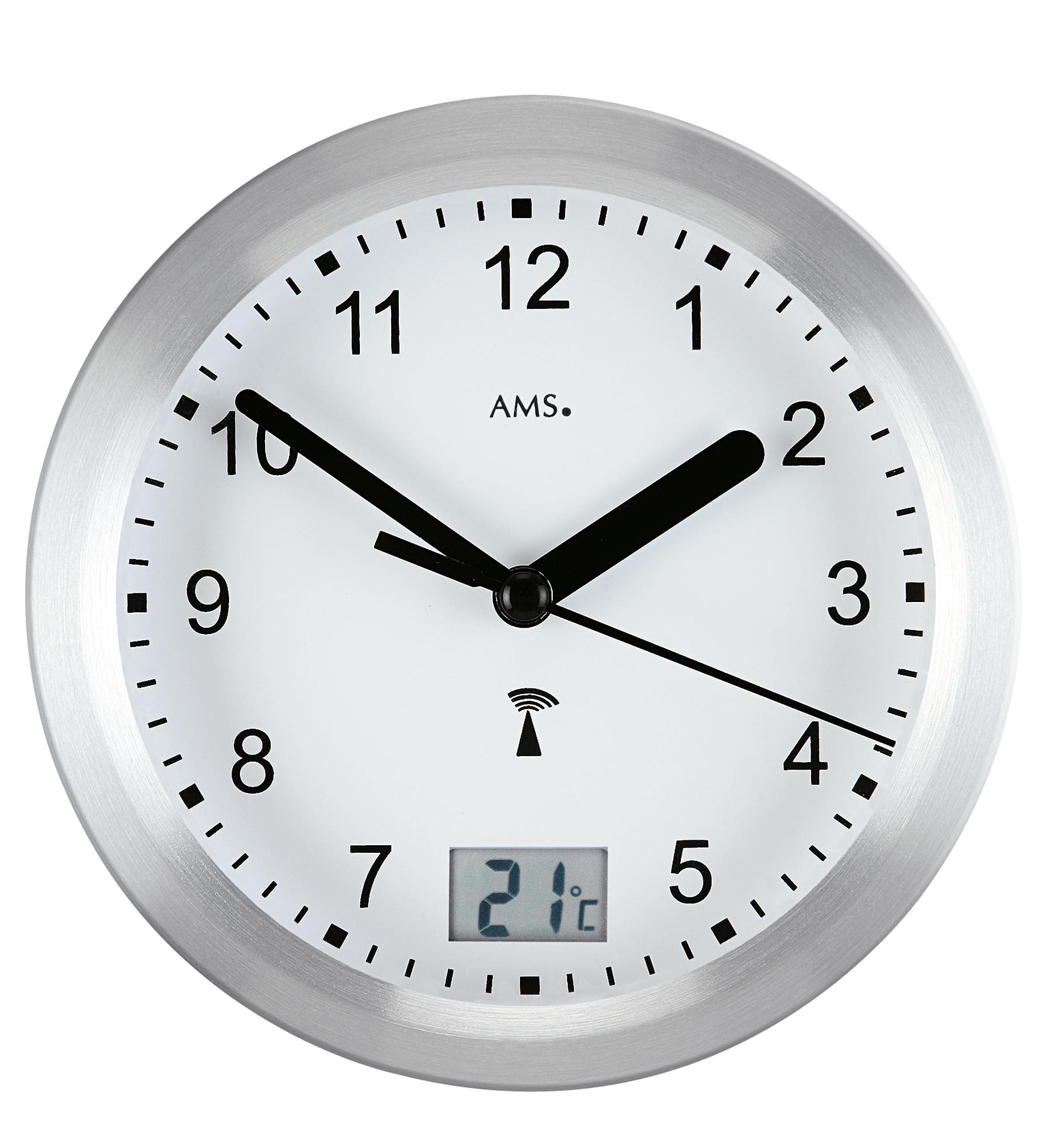 "Horloge murale radiopilotée ""Ducky"""