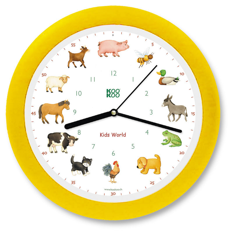 KOOKOO Wall Clock 'My Little Farm'